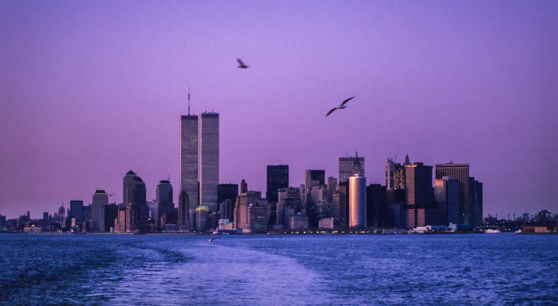 New York City skyline, 1987