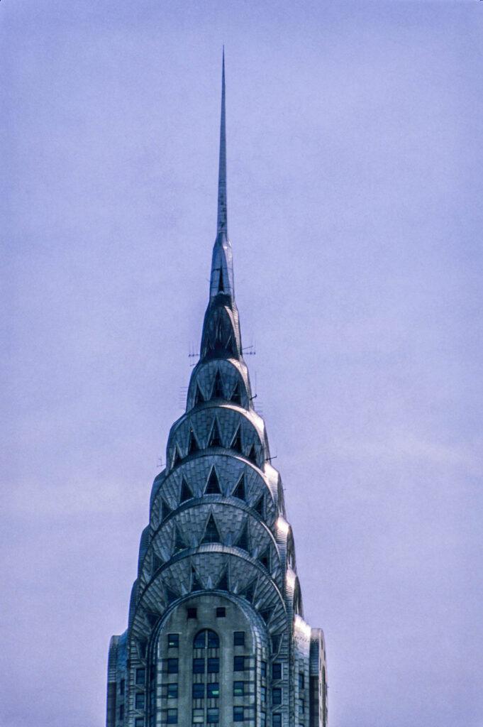 Chrysler building, New York City, 1987