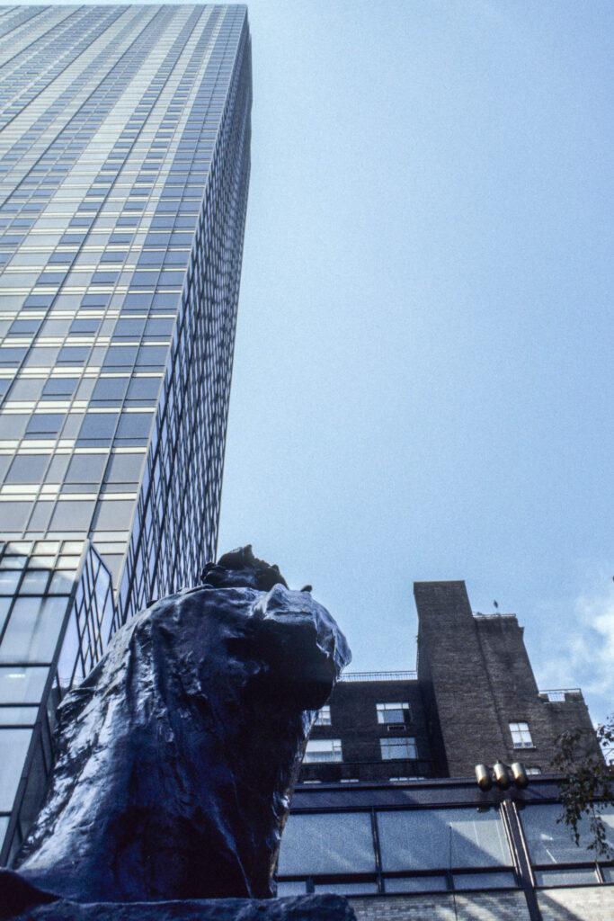 Balzac statue, Rodin, New York City