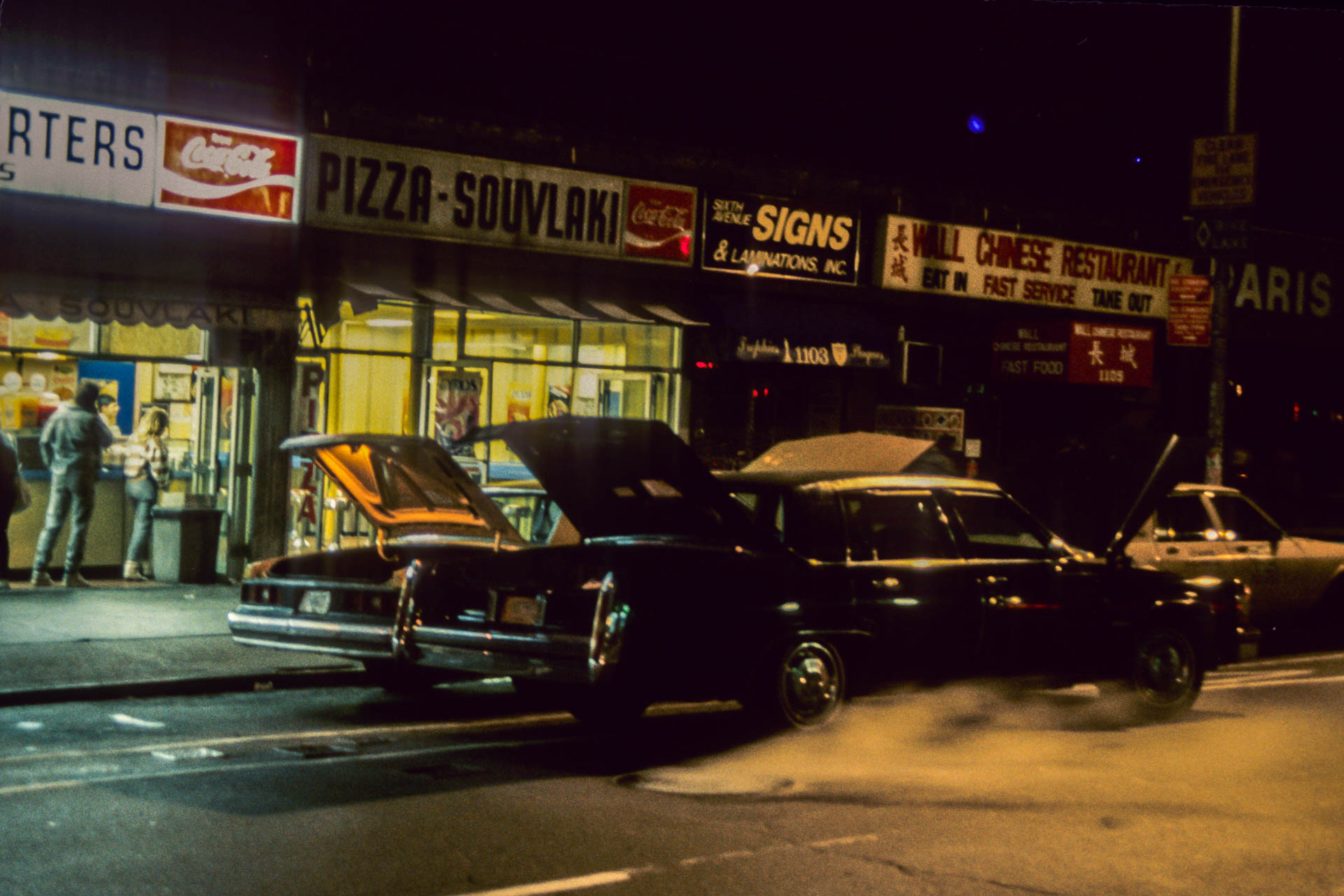 Street scene, New York City, 1987