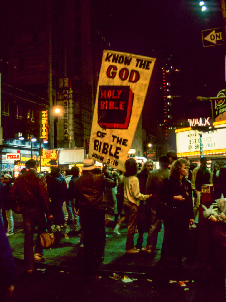 Time Square, New York City, 1987
