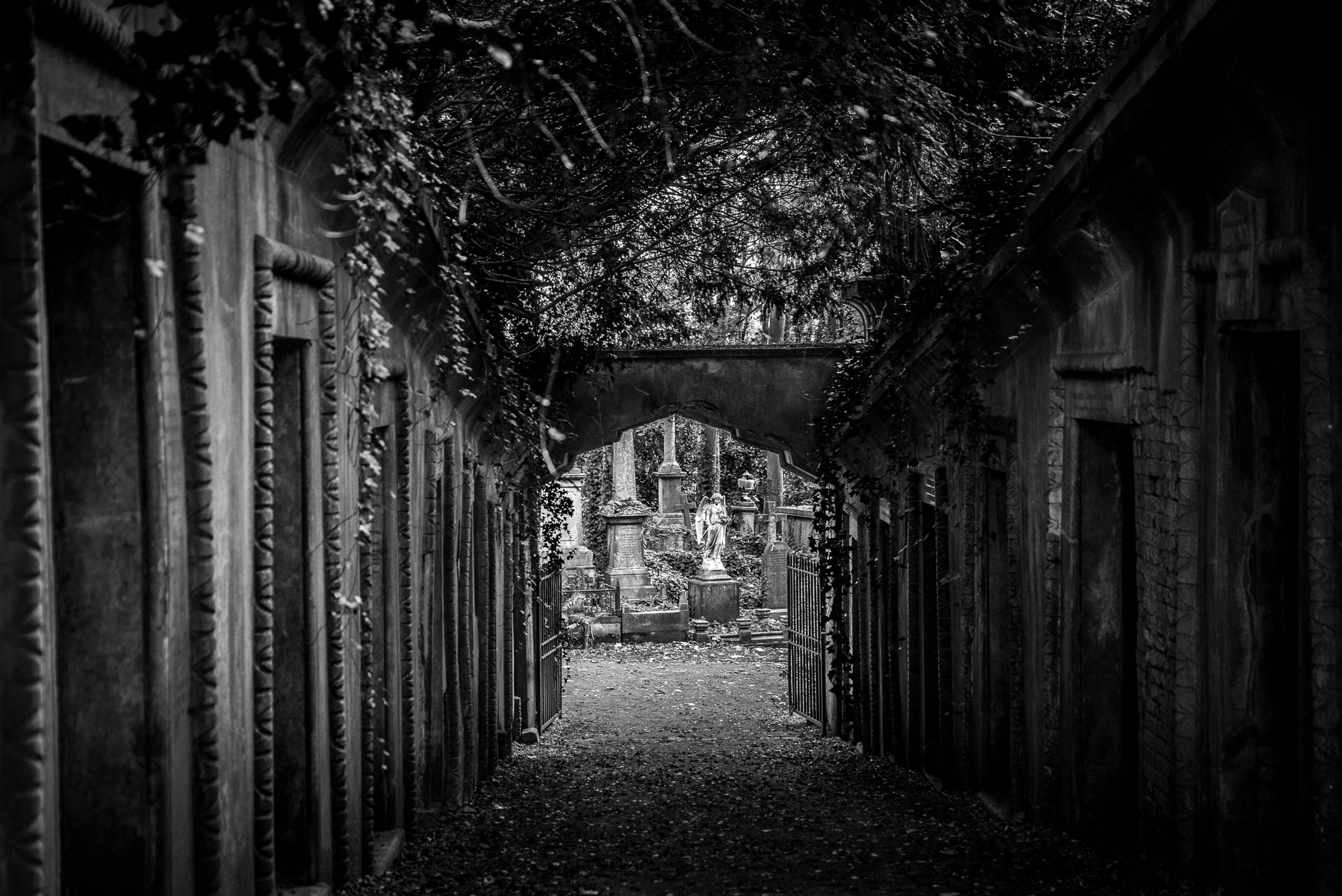 Cimetière Highgate, Londres